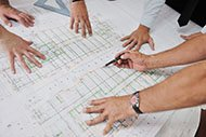 Commercial Construction Drawing or Plan